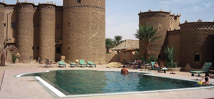 Kasbah Tombouctou Pool Ext