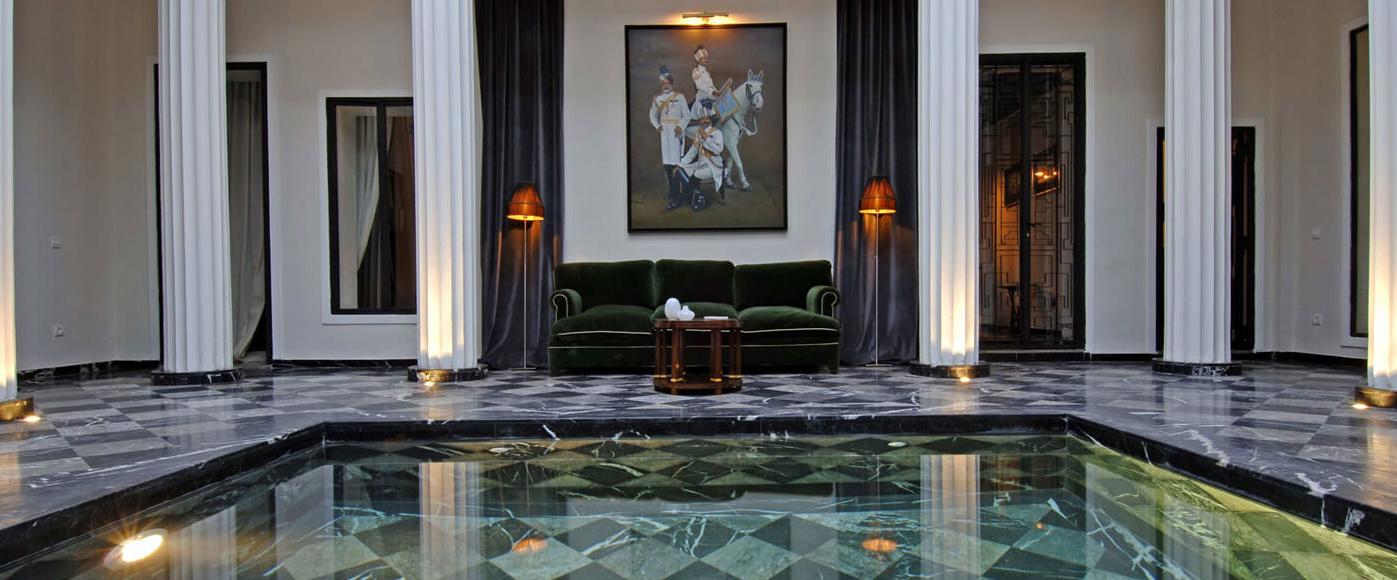 Riad Lotus Privilege Lobby
