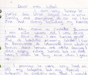 Kasipiti letter